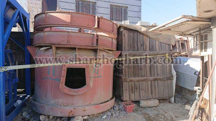 فروش کوره ذوب قوس الکتریکی فولاد