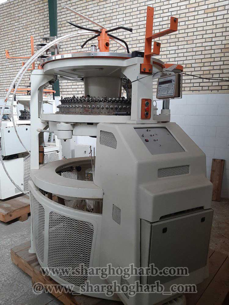 فروش ماشین آلات نساجی شامل گردبافی نواربافی رنگرزی و ...