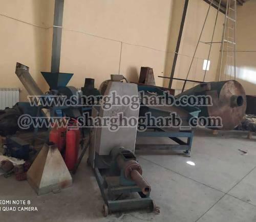 فروش خط تولید زغال در استان البرز