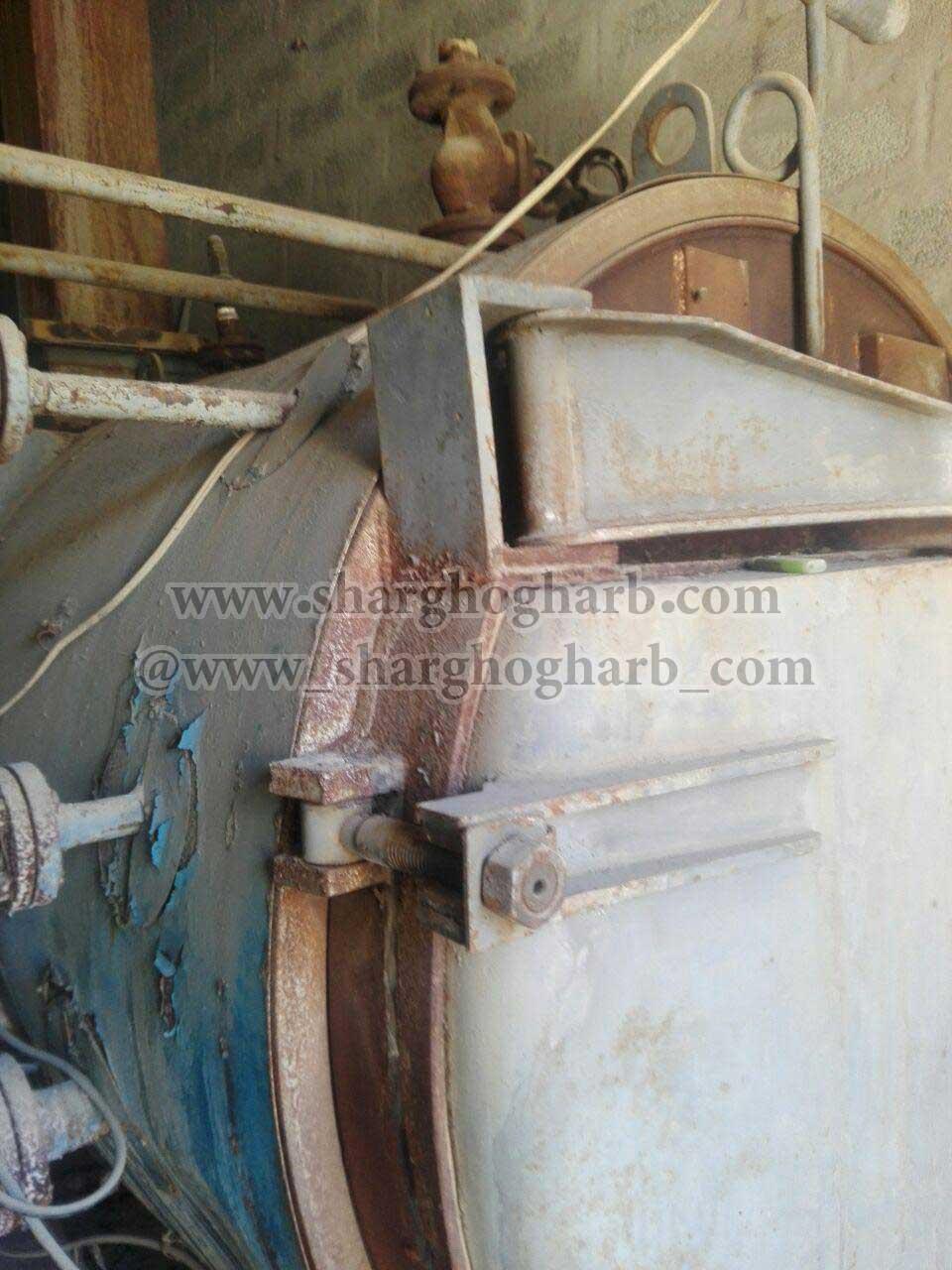 فروش دیگ بخار 1.5 تن در صفادشت