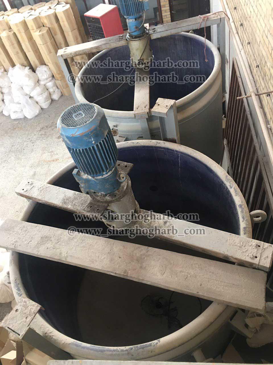 فروش دو مخزن گلاس لاین 3.5 تن در تهران