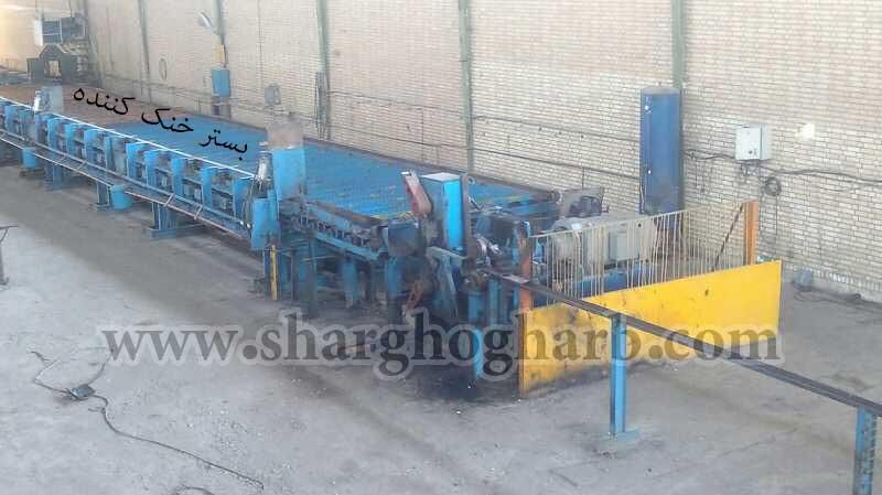فروش خط تولید میلگرد کانتینیوس در تهران