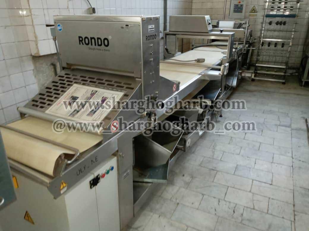فروش خط تولید کروسان و اشترودل روندو در استان تهران