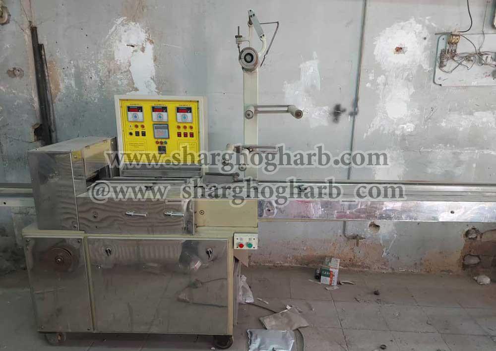 فروش دستگاه بسته بندی دوسر پرس در تهران