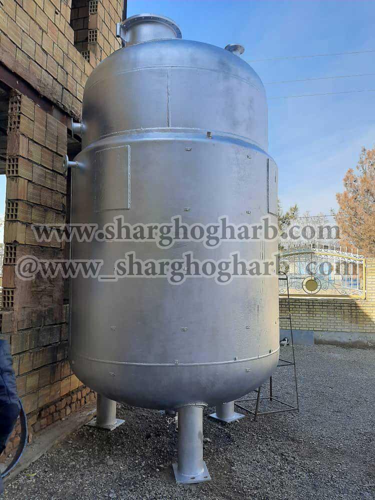 فروش یک دستگاه رآکتور استیل 10 تن در استان قم