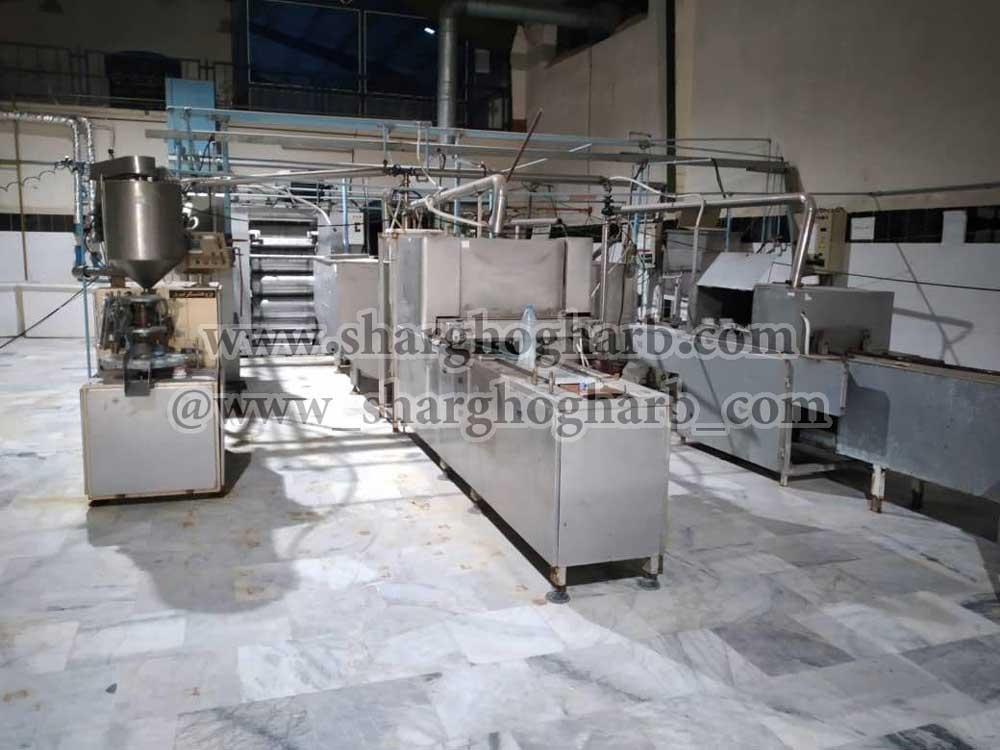 فروش خط تولید شکلات در استان آذربایجان غربی
