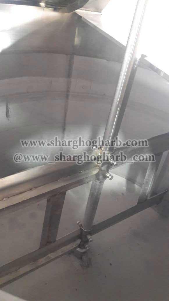 فروش مخزن استیل 3 جداره در تهران