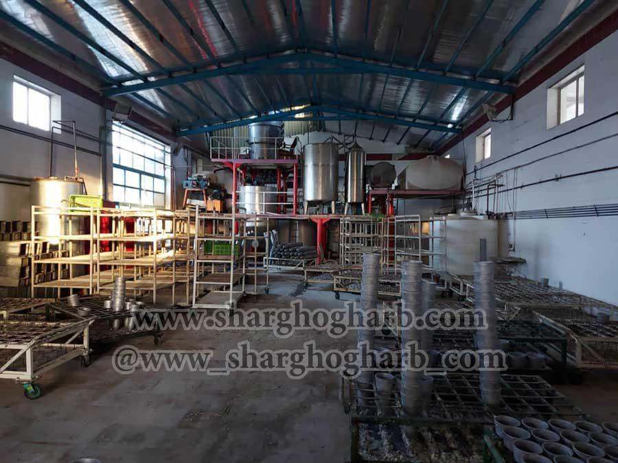 فروش خط تولید قند پختی در استان آذربایجان غربی