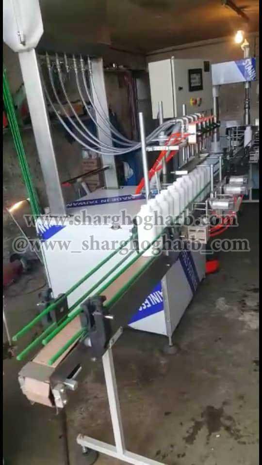 فروش خط پرکن مایعات رقیق در استان البرز