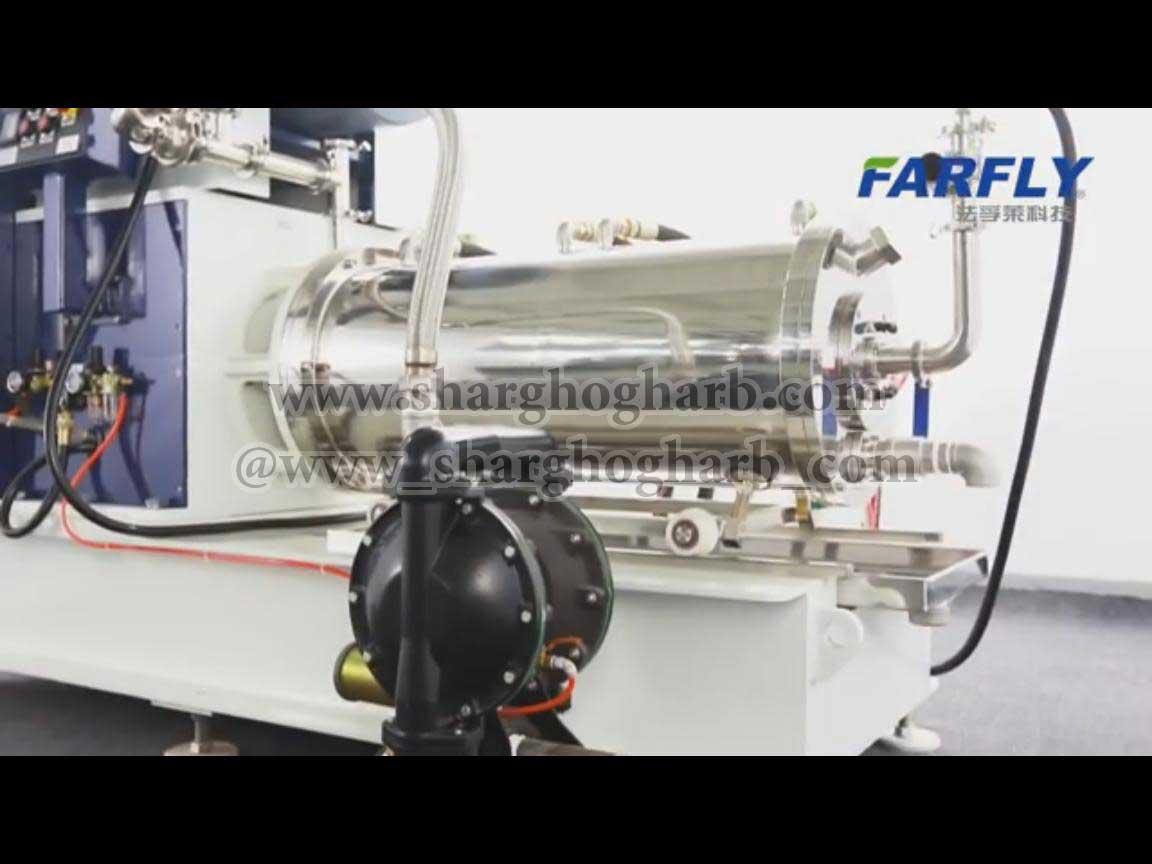 فروش دو دستگاه پرمیل/بالمیل افقی آکبند در استان البرز