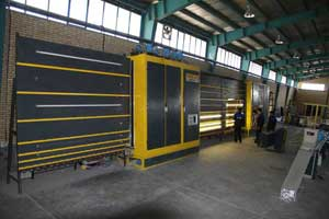 واگذاری کارخانه تولیدی شیشه دوجداره صنعتی در شهرک صنعتی اشتهارد